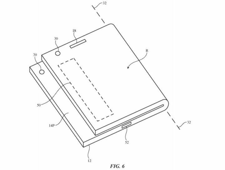 Apple создаст складывающийся смартфон (схемы)