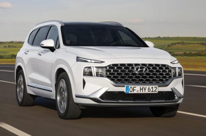 Стали известны подробности про обновленный Hyundai Santa Fe (фото)