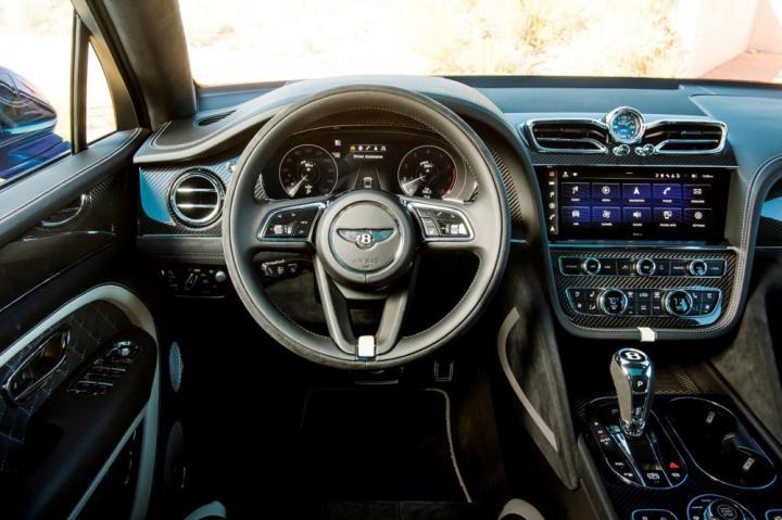 Bentley представил самый быстрый в мире кроссовер (фото, видео)