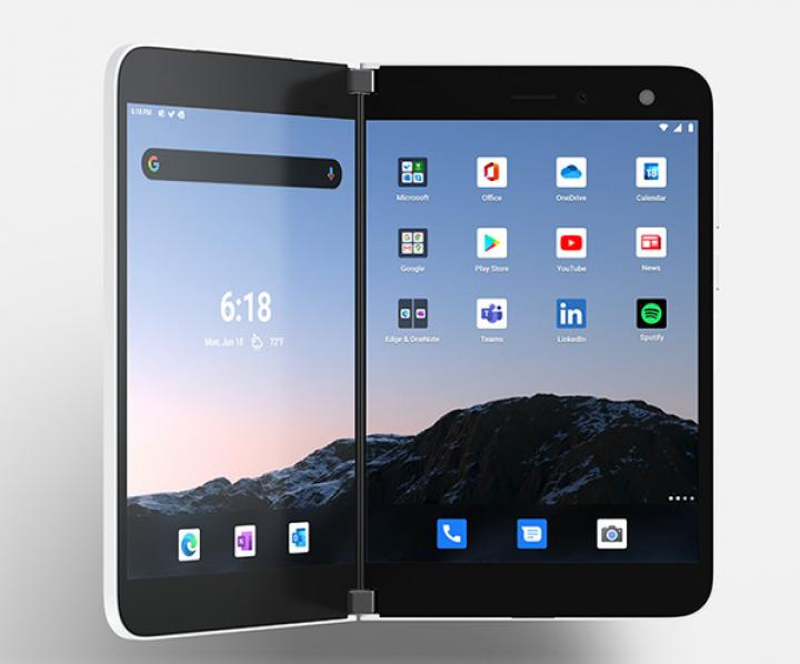 Microsoft выпустила двухэкранный андроид-смартфон Surface Duo (фото)