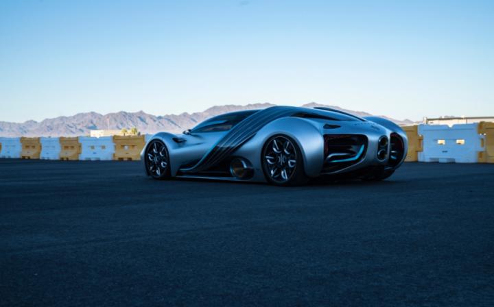 В США представили водородно-электрический суперкар (фото, видео)