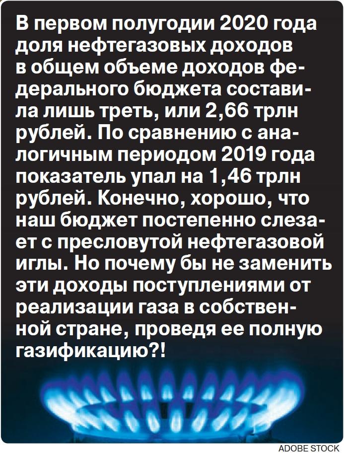 Российский газ не для россиян?