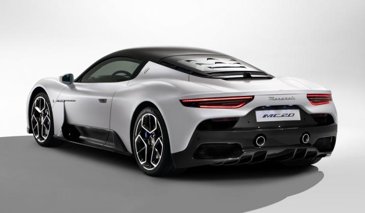 Maserati представила люксовый суперкар MC20 (фото, видео)