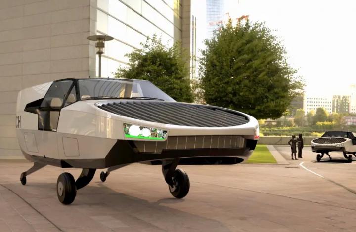 Израильская компания создала летающий автомобиль (фото)