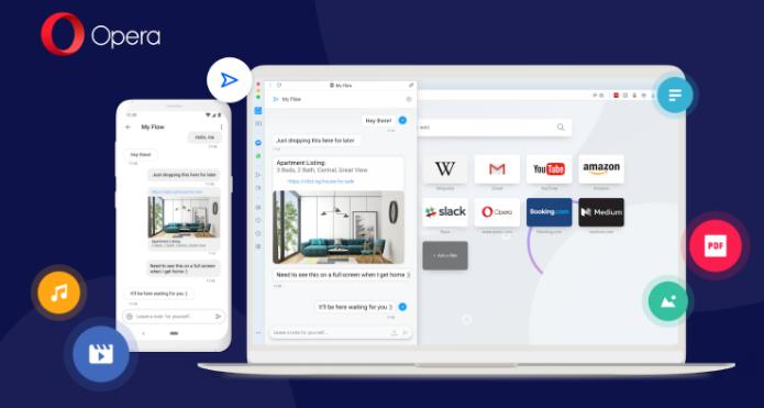 Opera упростила функцию синхронизации в новых версиях десктопного и Android-браузера