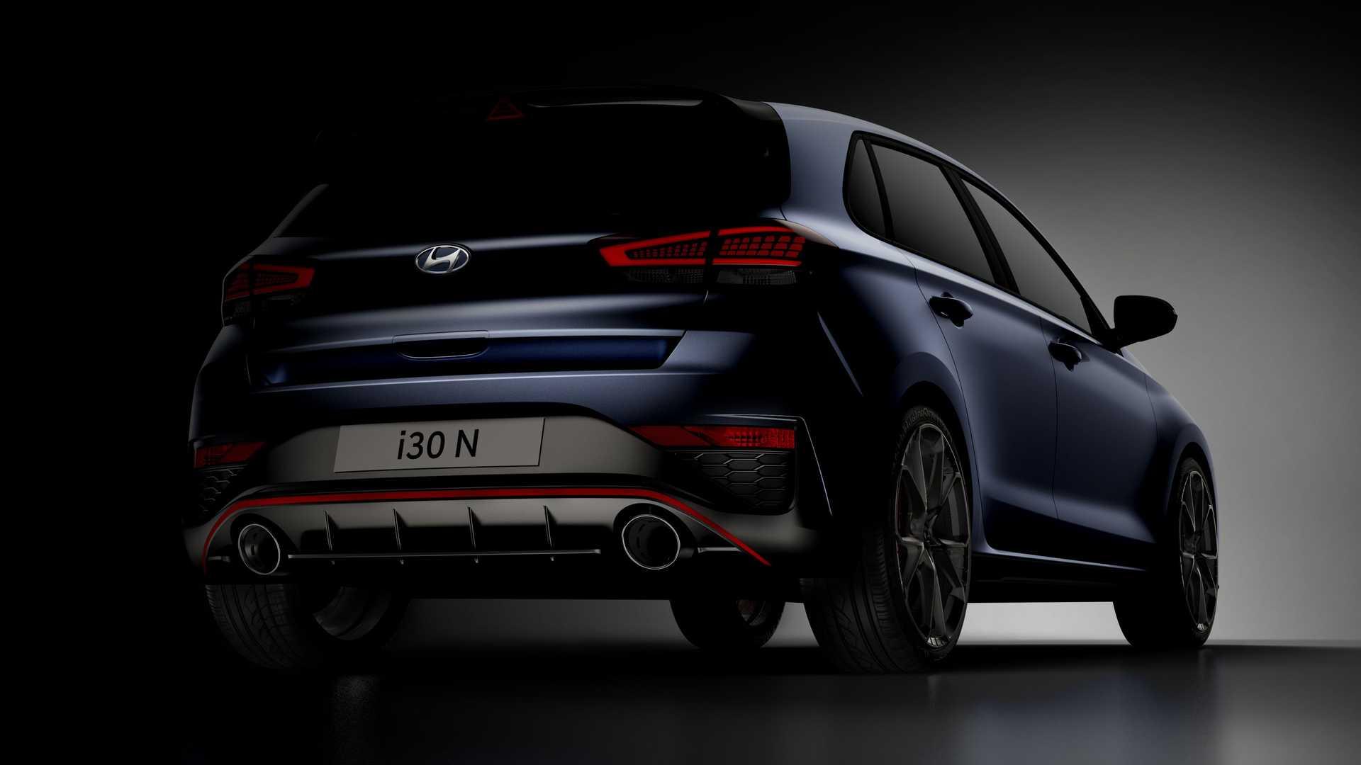 Hyundai показала обновленный i30 N