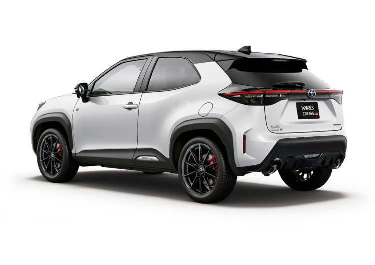 В Сети показали рендеры Toyota GR Yaris Cross (Фото)