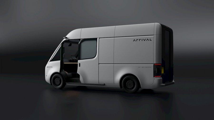 Англичане показали бета-версию электрического фургона Arrival Van (фото)
