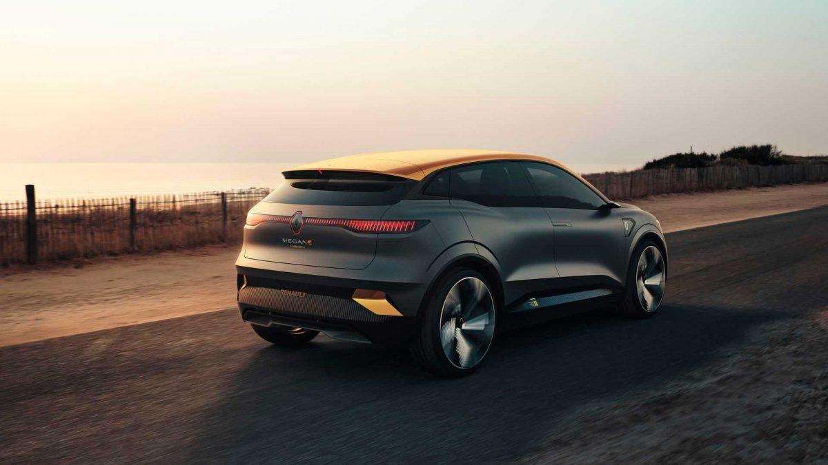 Renault показал концепт Megane eVision (фото)