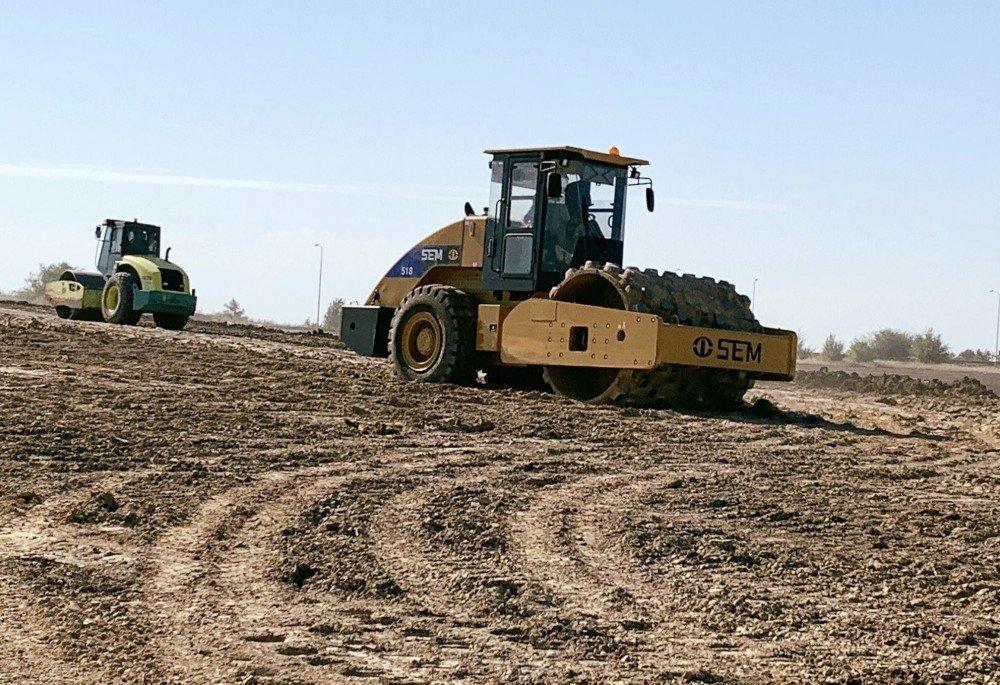 Вокруг города Днепр начали строить еще одну магистраль (фото)