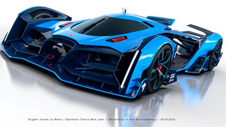 Bugatti представила новый гиперкар (фото)