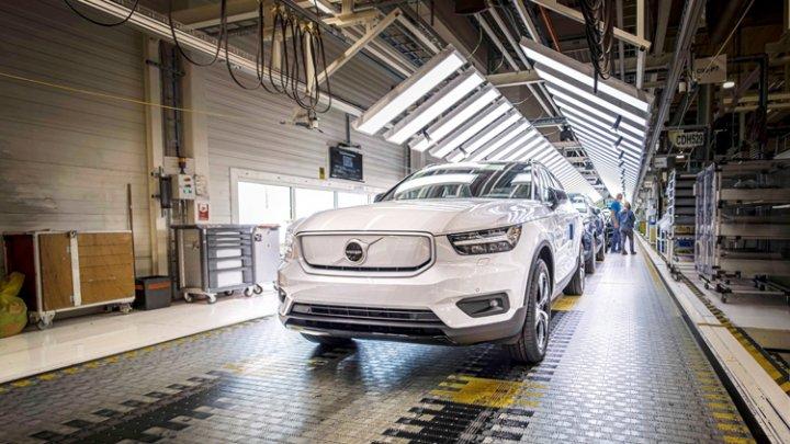 Volvo начала производство своего первого электрокара