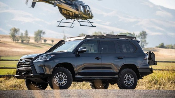 Lexus представил радикальную версию LX J201 для бездорожья