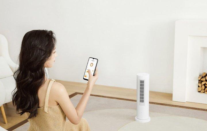 Xiaomi представила инфракрасный вертикальный обогреватель (фото)