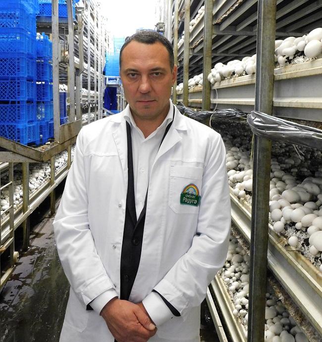 Александр Удодов теснит импорт в грибной отрасли