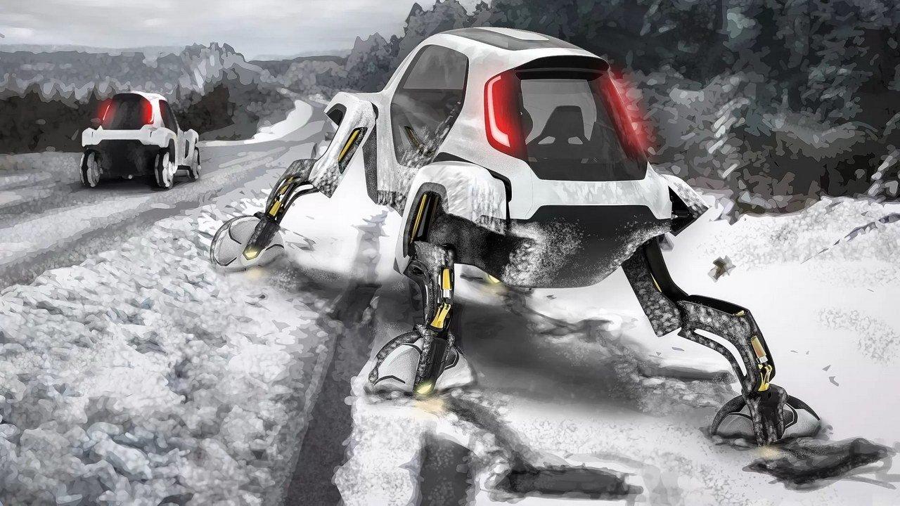 Шагающие машины-трансформеры: Hyundai готовит авто с максимальной проходимостью (фото)