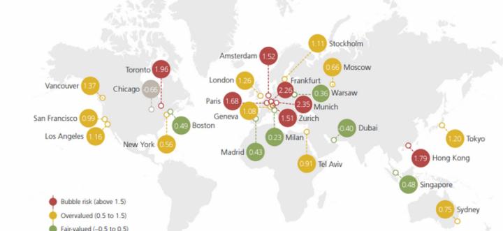 Названы города мира с самой переоцененной недвижимостью
