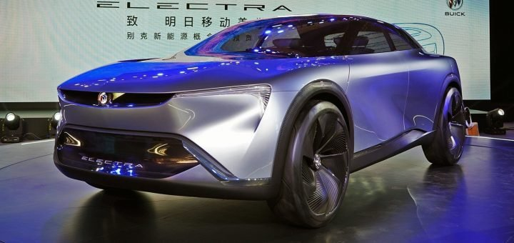 General Motors представил концепт электрокара на 583