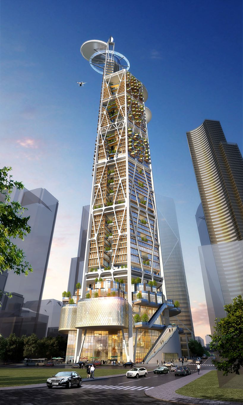 Архитекторы создали проект посткоронавирусного небоскреба (фото)