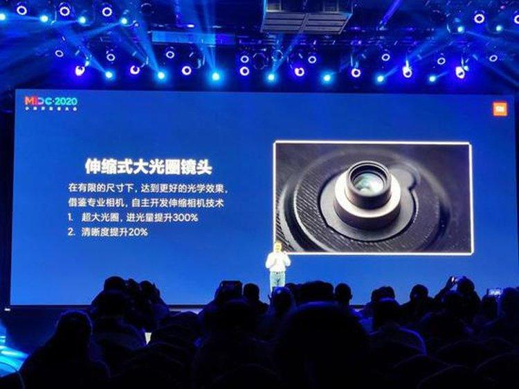 Xiaomi создала камеру для смартфонов с выдвижным объективом