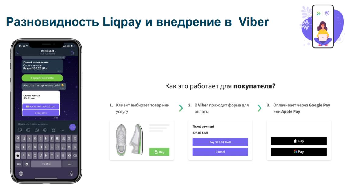 Планы ПриватБанка по технологии FacePay и чат-ботам Viber