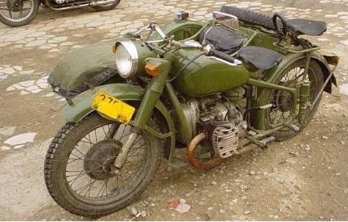 Китай подделал известный мотоцикл М-72