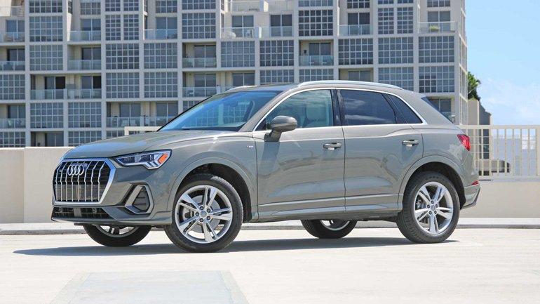 Audi Q3 получил новую базовую версию