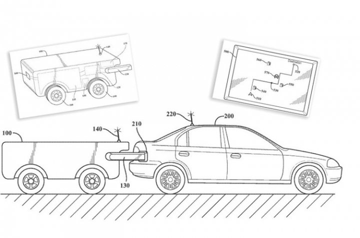 Toyota запатентовала дрон для заправки автомобилей прямо в дороге