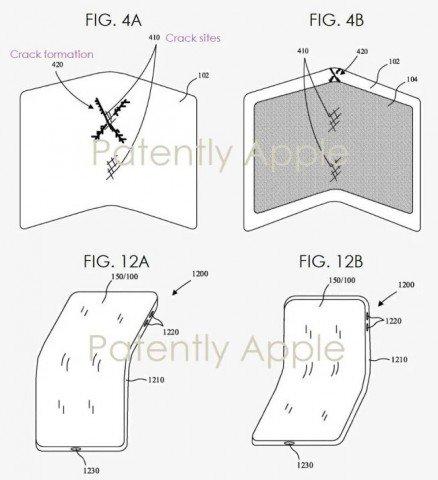 Apple разработала устойчивое к трещинам и царапинам покрытие для гибких экранов