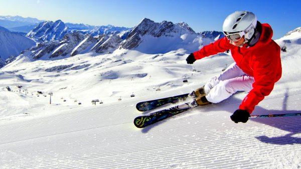 Снаряжение для катания на лыжах