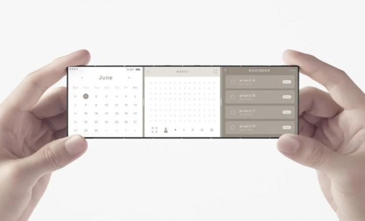 OPPO продемонстрировала новую концепцию складного смартфона (фото)
