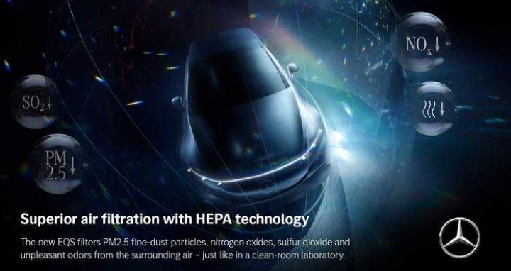 Mercedes-Benz гарантирует стерильный воздух в салоне своего авто (фото)