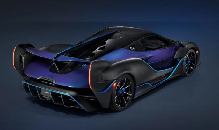 McLaren представила свой самый мощный бензиновый гиперкар (фото)