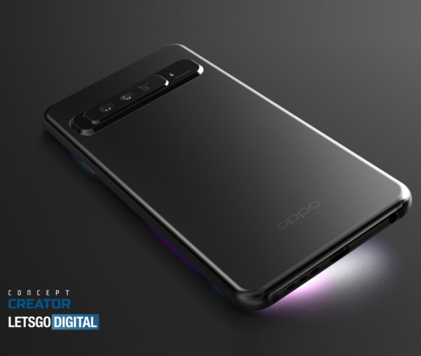OPPO запатентовала смартфон с продвинутой зум-камерой (фото)