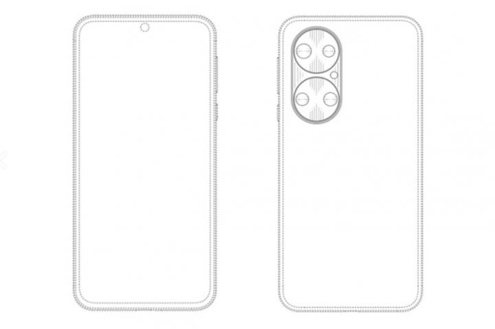 Huawei запатентовала смартфон с необычной «камерой-розеткой»
