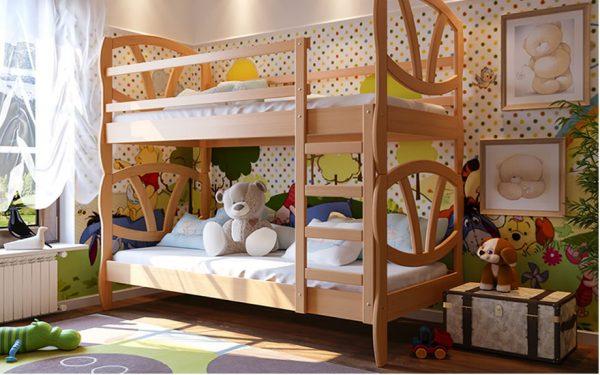 Качественные двухъярусные кровати для детей