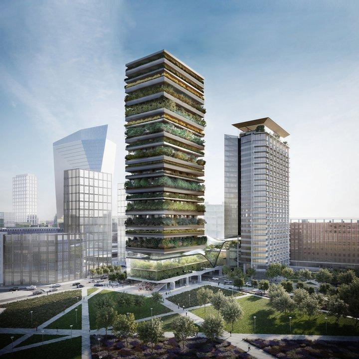 Как будет выглядеть поразительная башня-лес в Милане (фото)