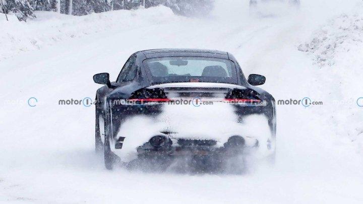 Porsche готовит специальную версию 911 для бездорожья