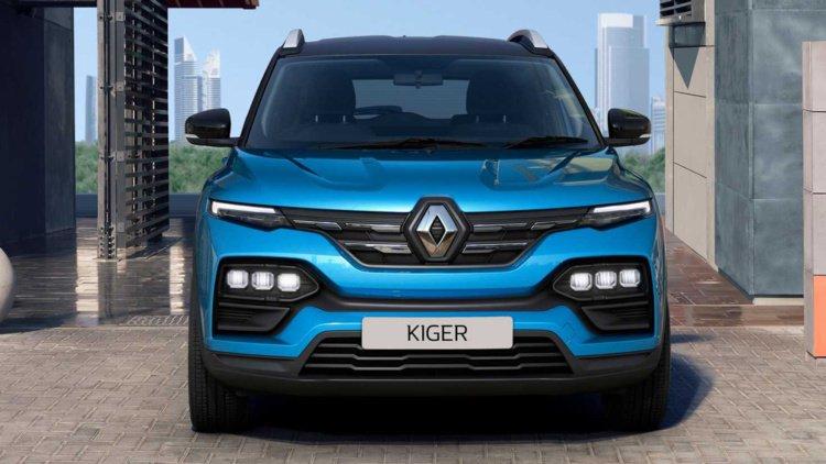 Новый кросс Renault Kiger за 00 (фото)