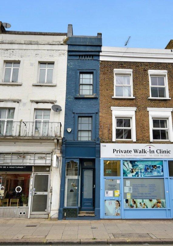 Самый маленький дом Лондона продают за  ,3 млн (фото)