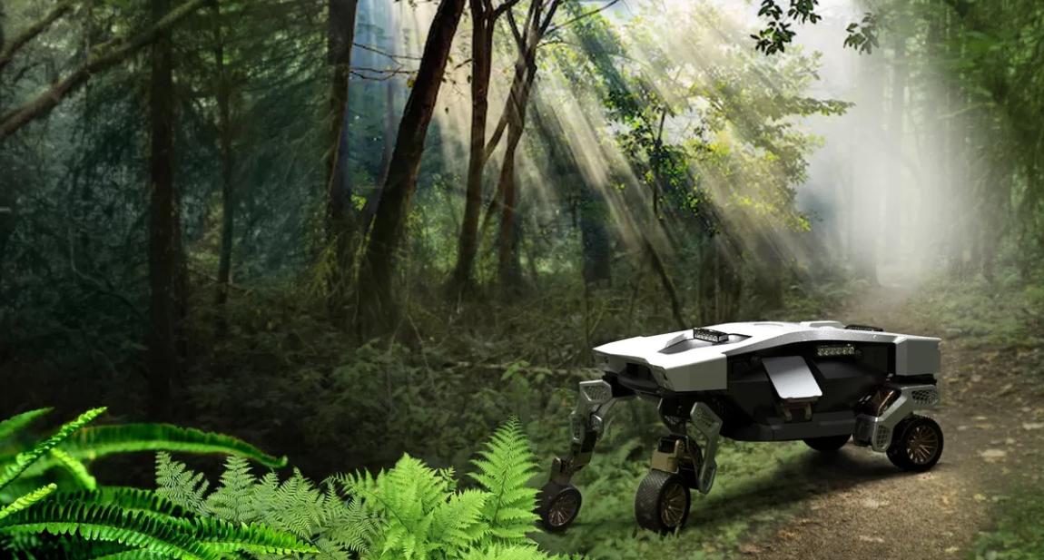 Hyundai показала концепт шагающего беспилотного автомобиля (фото, видео)