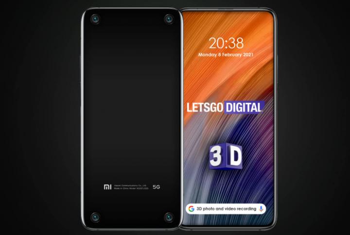 Xiaomi запатентовала смартфон с четырьмя 3D-камерами