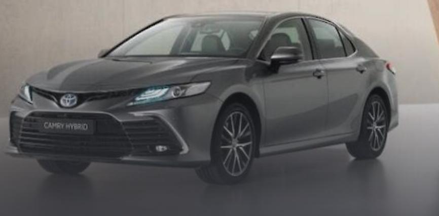 На украинский рынок вышла обновленная Toyota Camry