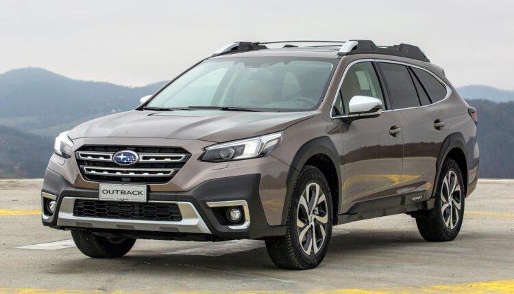 Обновленная Subaru Outback выходит на рынок (фото)