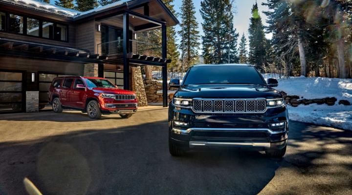 Jeep презентовал роскошные крупные внедорожники (фото)
