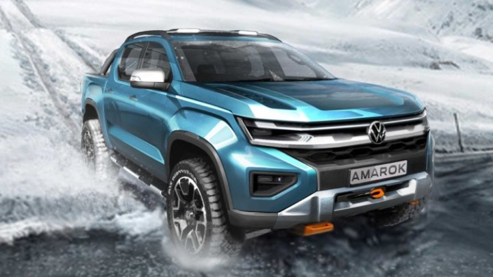 Volkswagen показал, как будет выглядеть новый Amarok