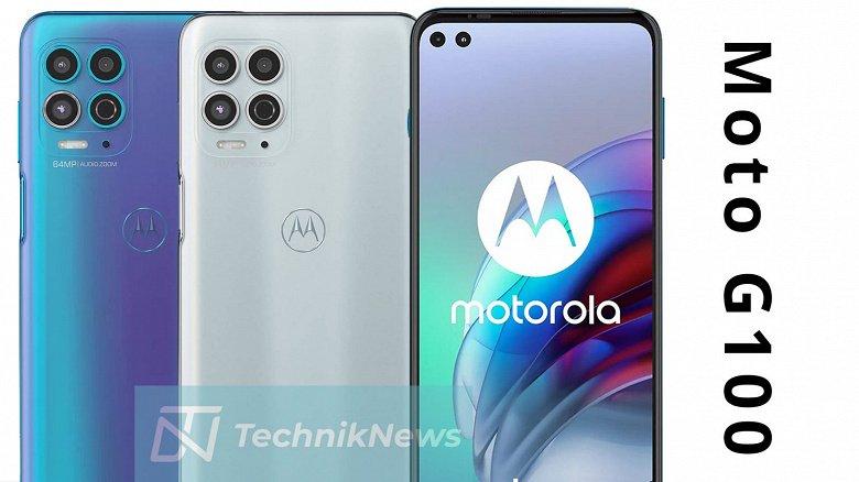 Стали известны характеристики Motorola G100