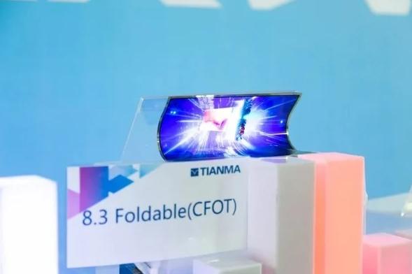 Tianma показала экран для огромных складных смартфонов