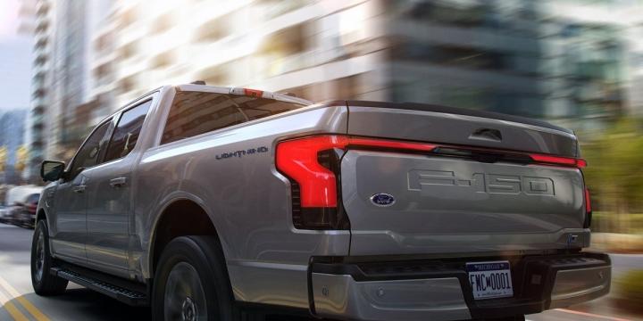 Представлен электропикап Ford F-150 Lightning (фото, видео)