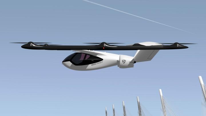 Volocopter представила новую модель аэротакси для полетов 4 человек на 100 км